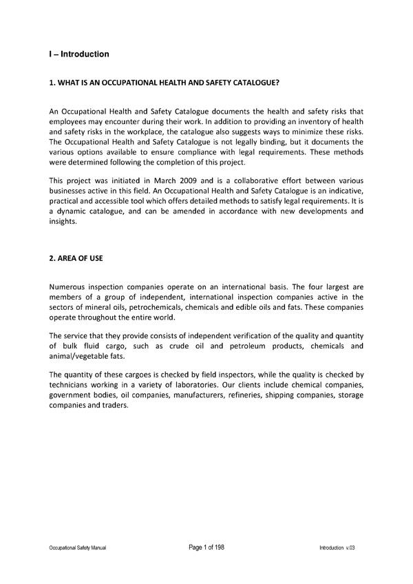 SPCS | Safety Platform Cargo Surveyors