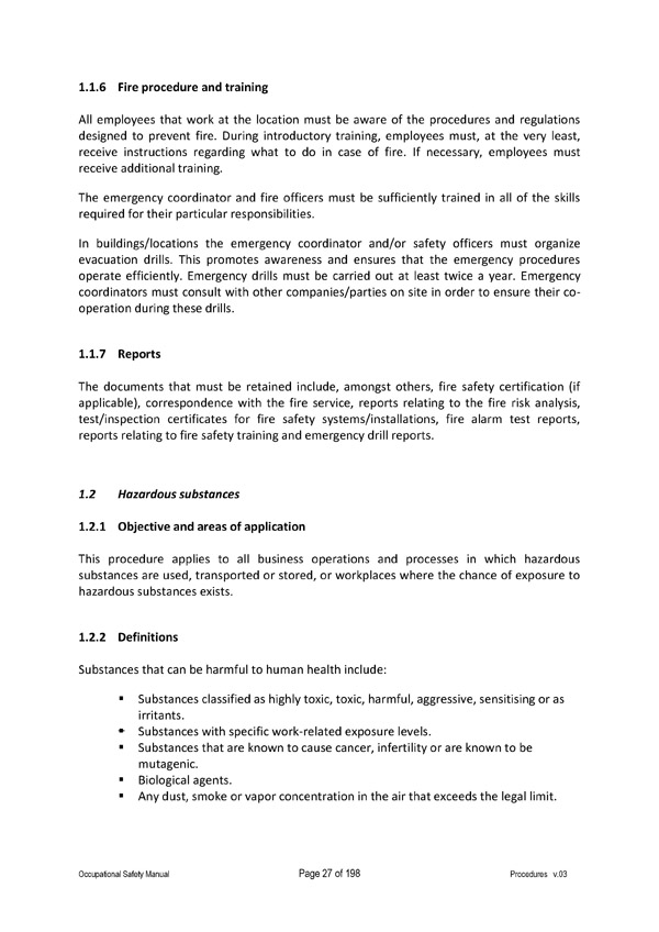 mission statement - Fire Training Officer Sample Resume